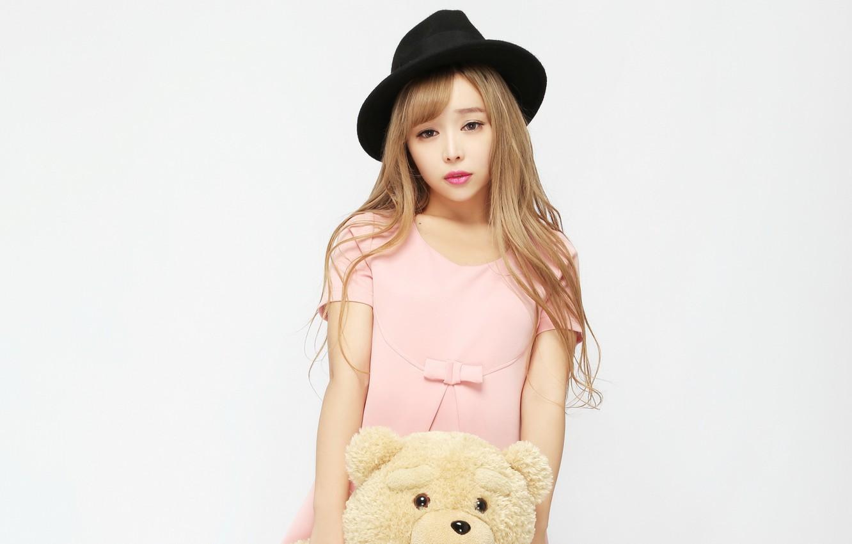 Photo wallpaper girl, mood, model, hat