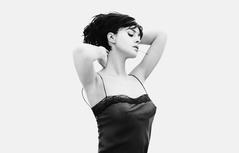 Photo wallpaper white, Wallpaper, black, Monica, Bellucci