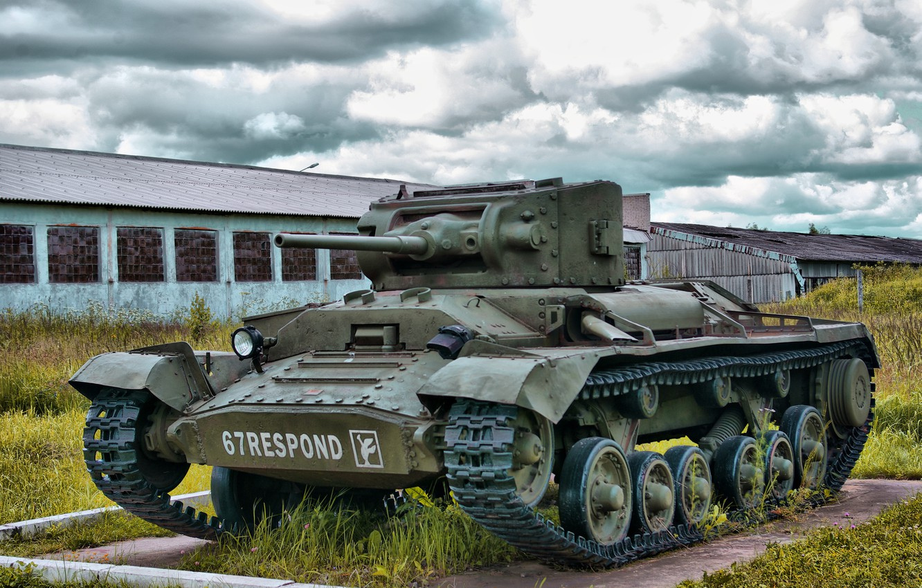 "Photo wallpaper easy, tank, Russia, British, infantry, during the Second world war, tank Museum, Kubinka, ""Valentine"" ""Valentine"""