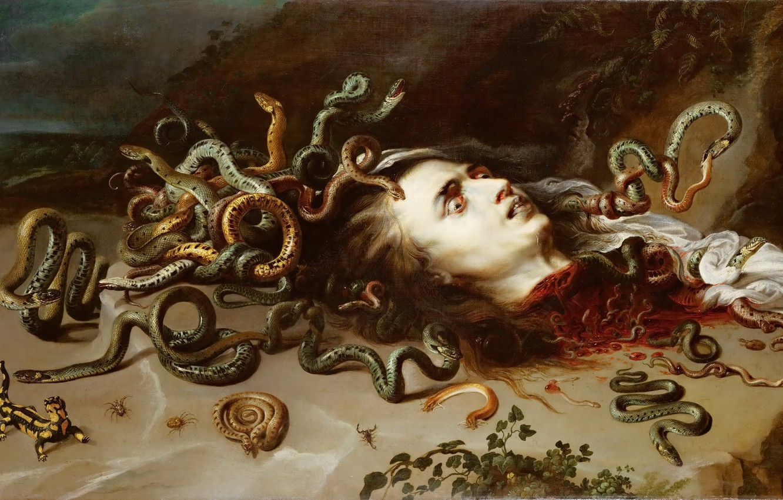 Wallpaper Medusa, picture, Peter Paul