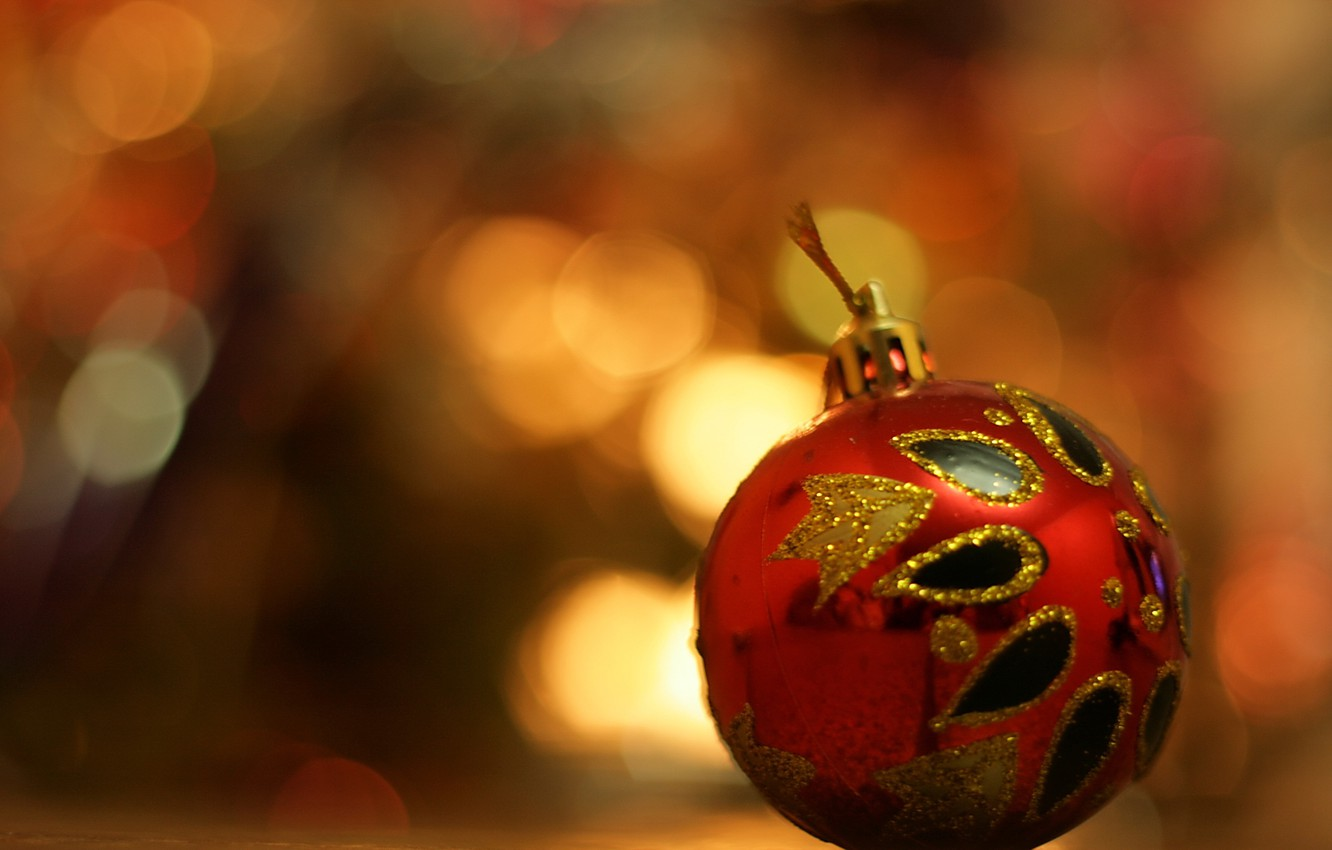 Photo wallpaper holiday, toy, new year