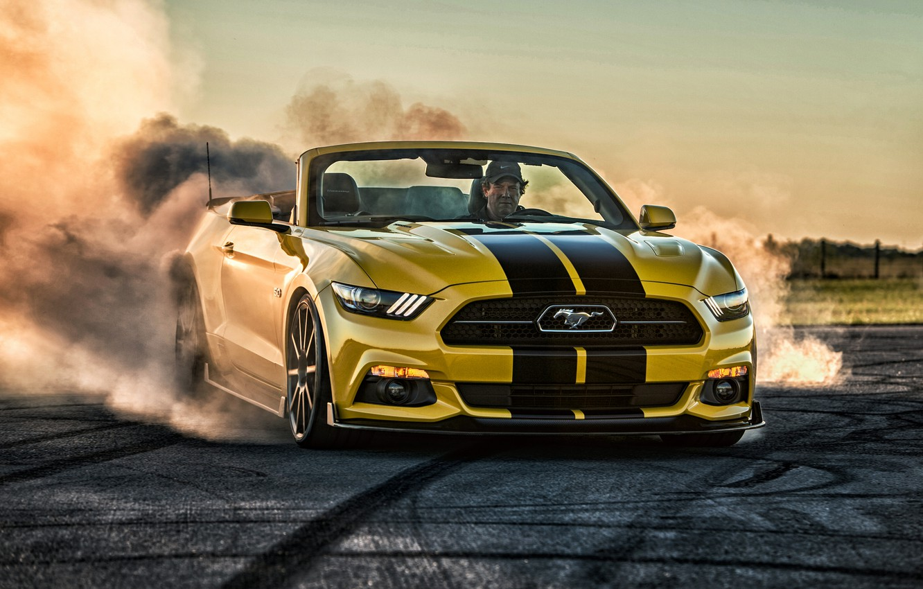 Photo wallpaper Mustang, Ford, Mustang, Ford, Hennessey