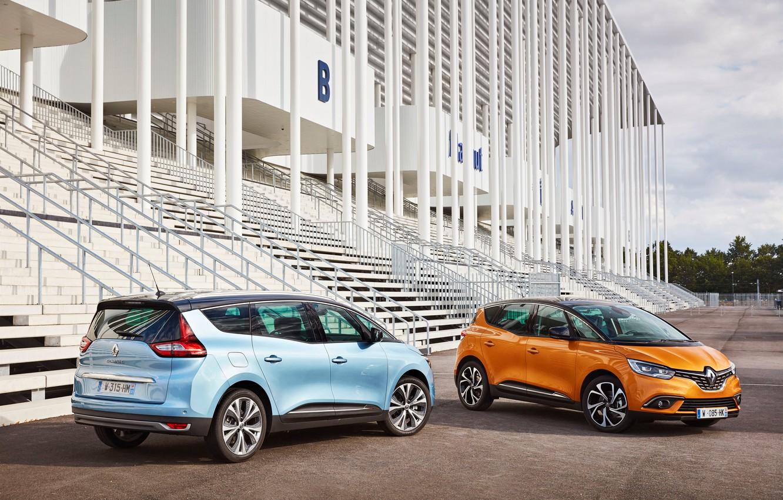 Photo wallpaper Renault, Cars, Scenic, 2016, Metallic