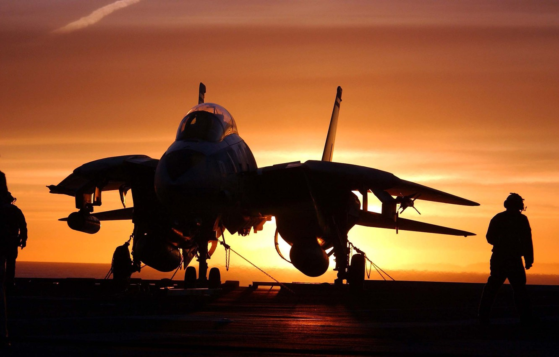 Wallpaper the plane, silhouette, Grumman, the fourth generation