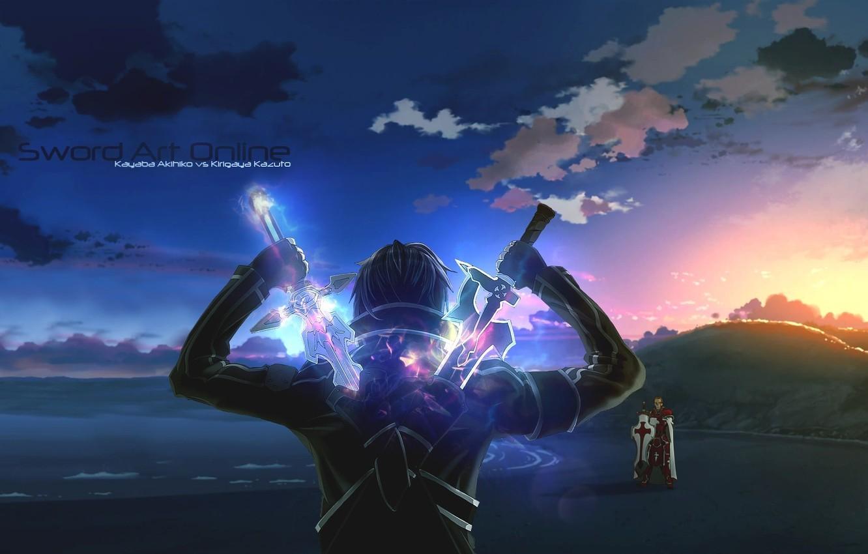 Photo wallpaper Kirito, SAO, Sword art Online