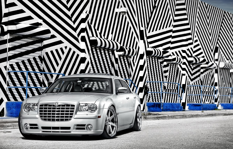 Photo wallpaper Chrysler, 300, Wheels, DUB