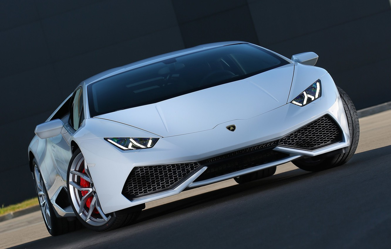 Photo wallpaper Lambo, Lamborghini, Lamborghini Huracan