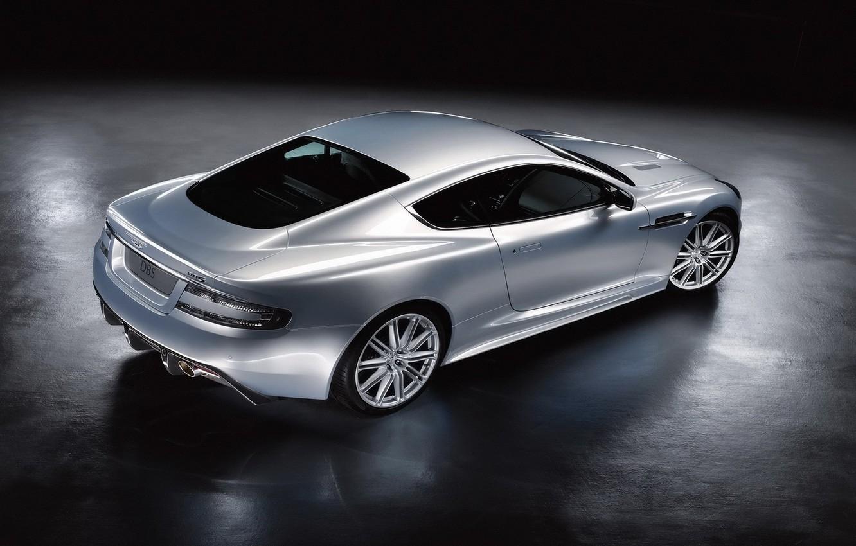 Photo wallpaper Aston Martin, silver
