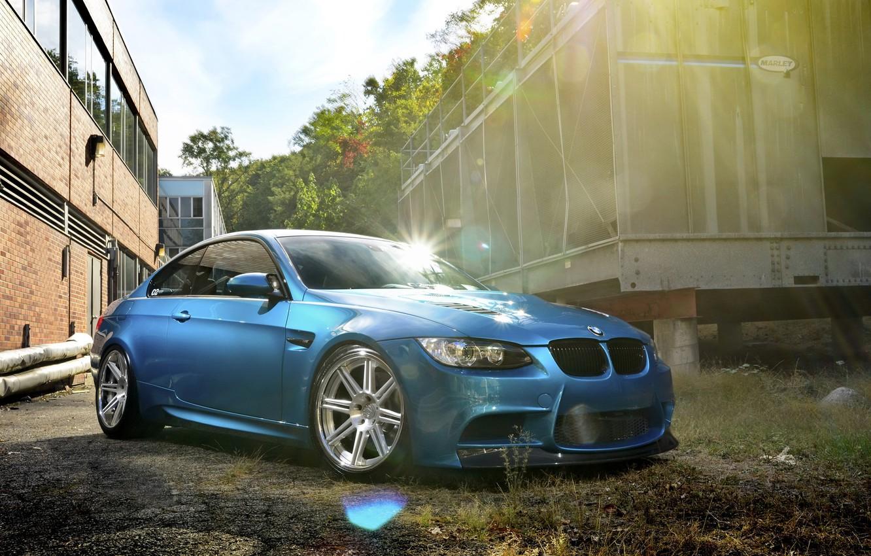 Photo wallpaper car, glare, tuning, BMW, tuning, bmw m3, rechange