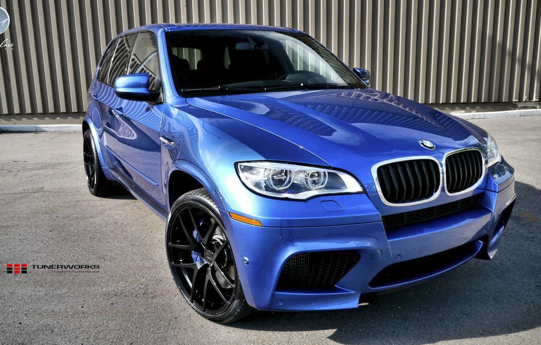 Photo wallpaper Blue, BMW, BMW