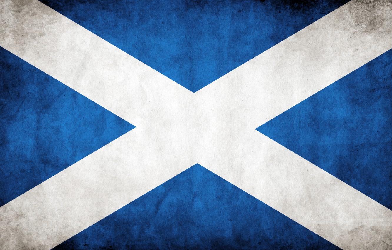 Photo wallpaper Scotland, flag, Scotland