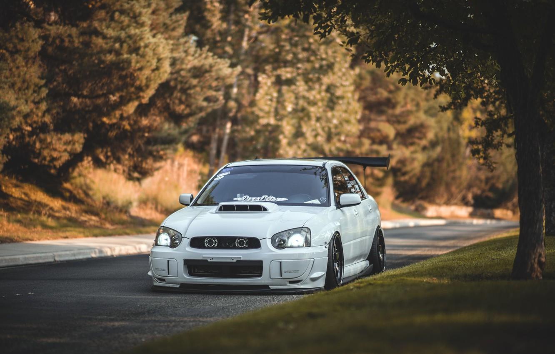 Cars Tuning Subaru Impreza Wrx Jdm Wallpaper: Wallpaper Turbo, White, Wheels, Subaru, Japan, Wrx