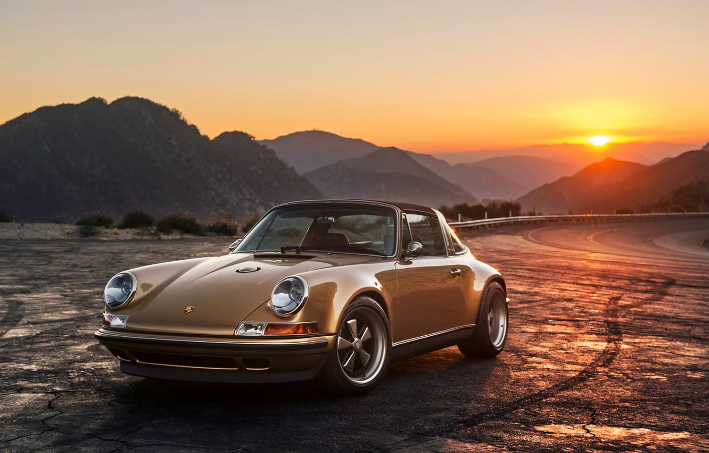 Photo wallpaper 911, Porsche, Porsche, Singer, 2015, Targa, Targa
