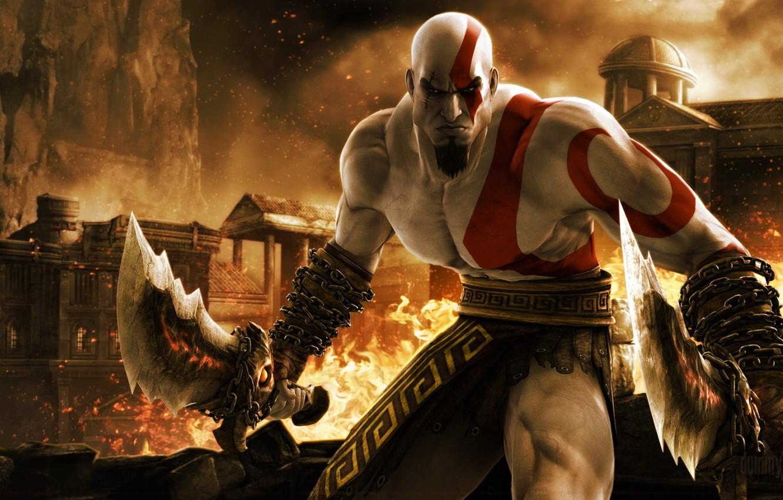 Photo wallpaper the game, game, Kratos, kratos, God of war, ps3, God of War Ascension