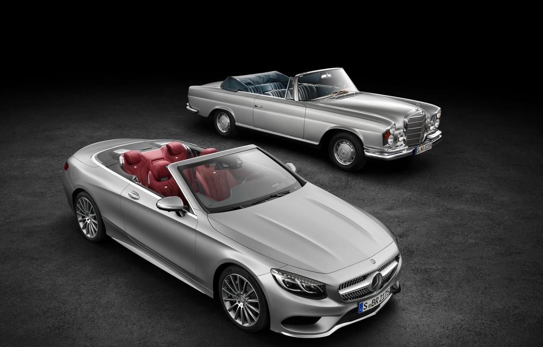 Photo wallpaper Mercedes-Benz, convertible, Mercedes, AMG, S 63, S-Class, 2015, A217