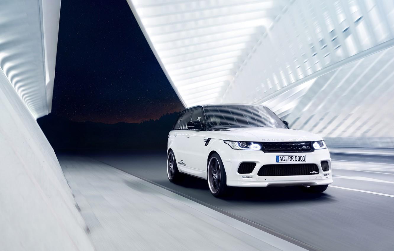 Photo wallpaper white, Range Rover Sport, by AC Schnitzer