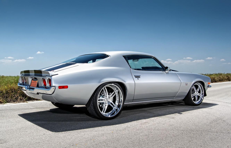 Photo wallpaper tuning, muscle car, Chevrolet Camaro, Chevrolet
