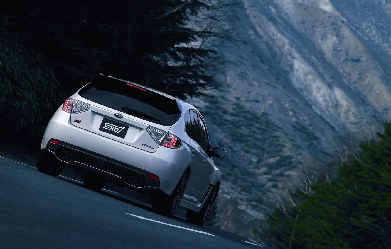 Photo wallpaper subaru, Subaru Impreza, impreza r205