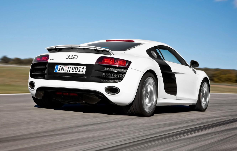 Photo wallpaper Audi, R8 5.2 FSI quattro