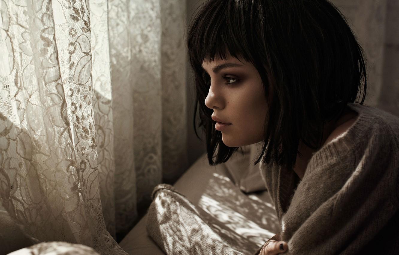 Photo wallpaper photoshoot, Selena Gomez, Flaunt
