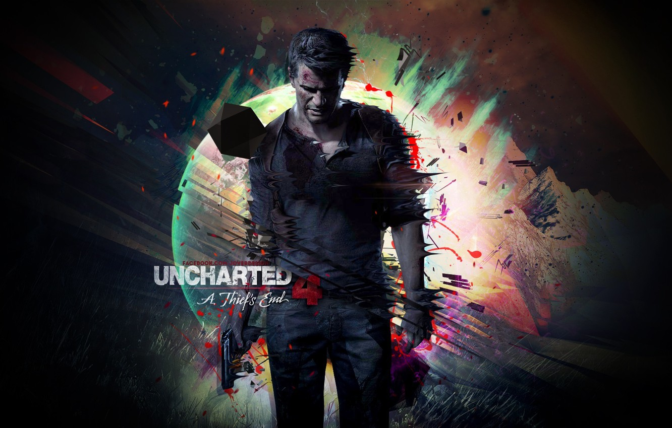 Photo wallpaper the game, game, playstation, uncharted, ps4, Uncharted 4, The way of the thief, The Thiefs …