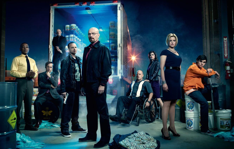 Photo wallpaper the series, heroes, breaking bad, brba, breaking bad, Season 4, promo