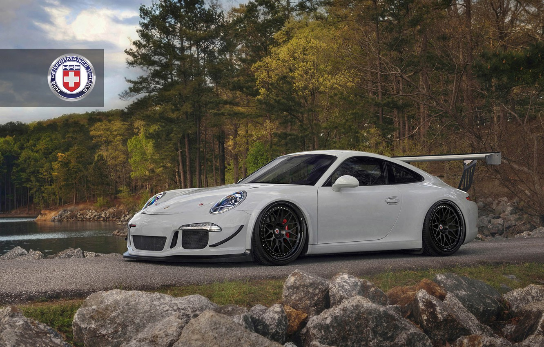 Photo wallpaper Porsche, Classic, with, 991, HRE