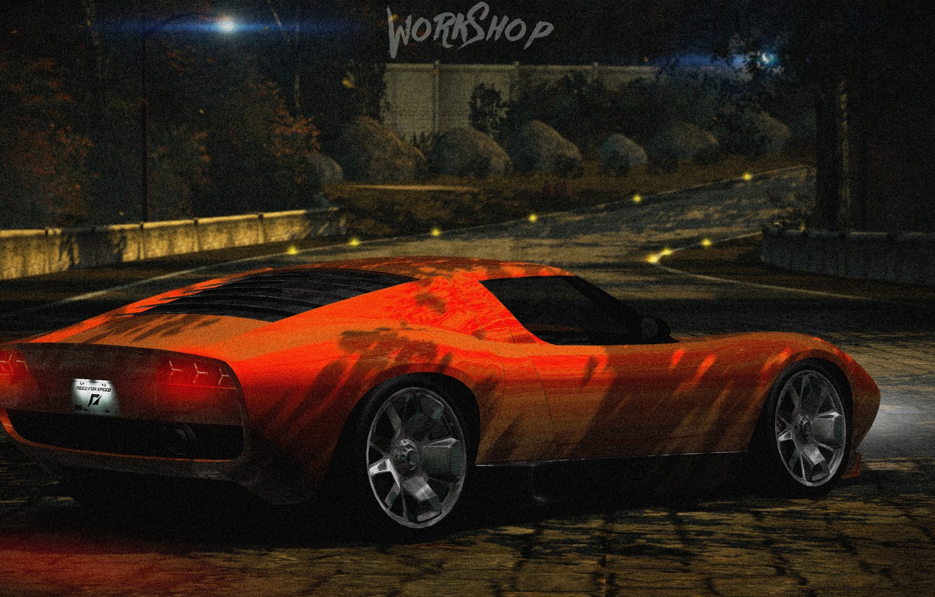 Wallpaper Park Orange Need For Speed World Lamborghini