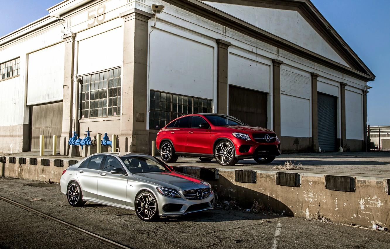 Photo wallpaper Mercedes-Benz, Mercedes, AMG, AMG, C-Class, W205, C292, GLE-Class