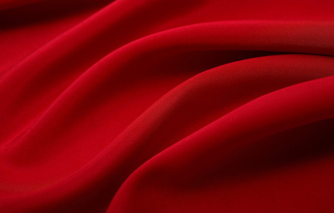 Photo wallpaper red, texture, fabric, fabric texture