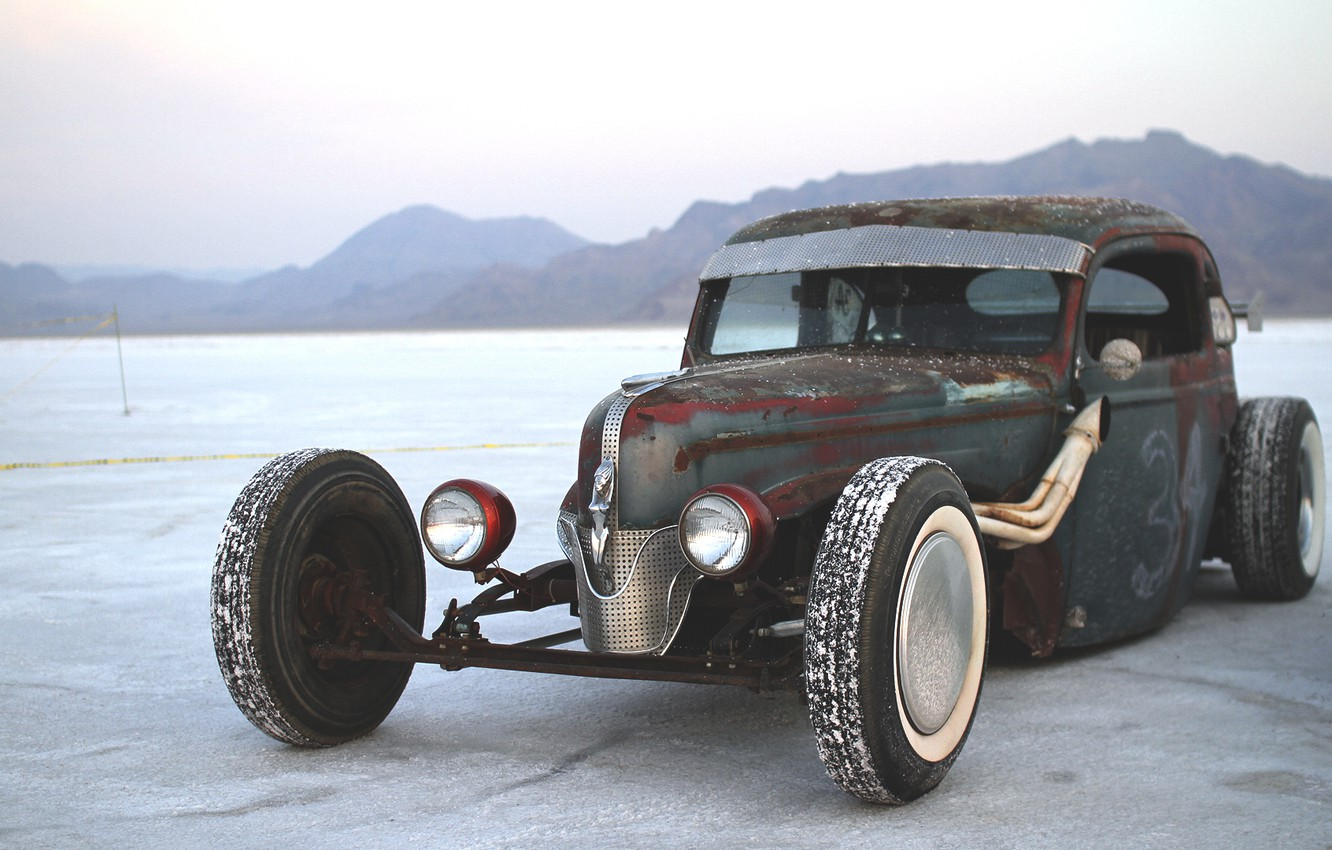 Photo wallpaper ford, Ford, hot rod, hot rod, rat rod