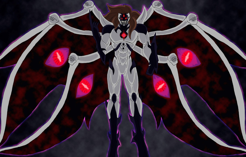 P O Wallpaper Dark Sake Game Monster Evolution Anime