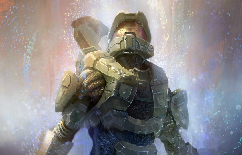 Wallpaper helmet, armor, FPS, Halo 4, Master Chief, MJOLNIR