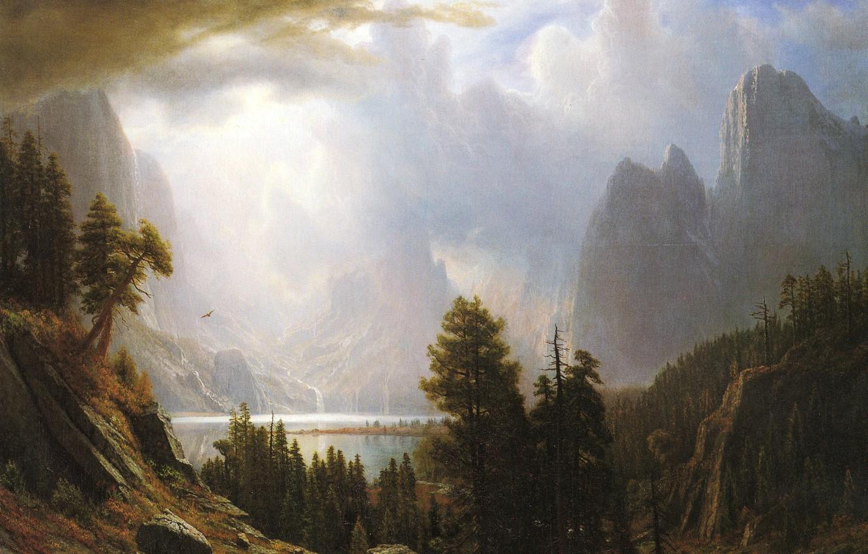 Wallpaper Nature Picture Landscape Albert Bierstadt