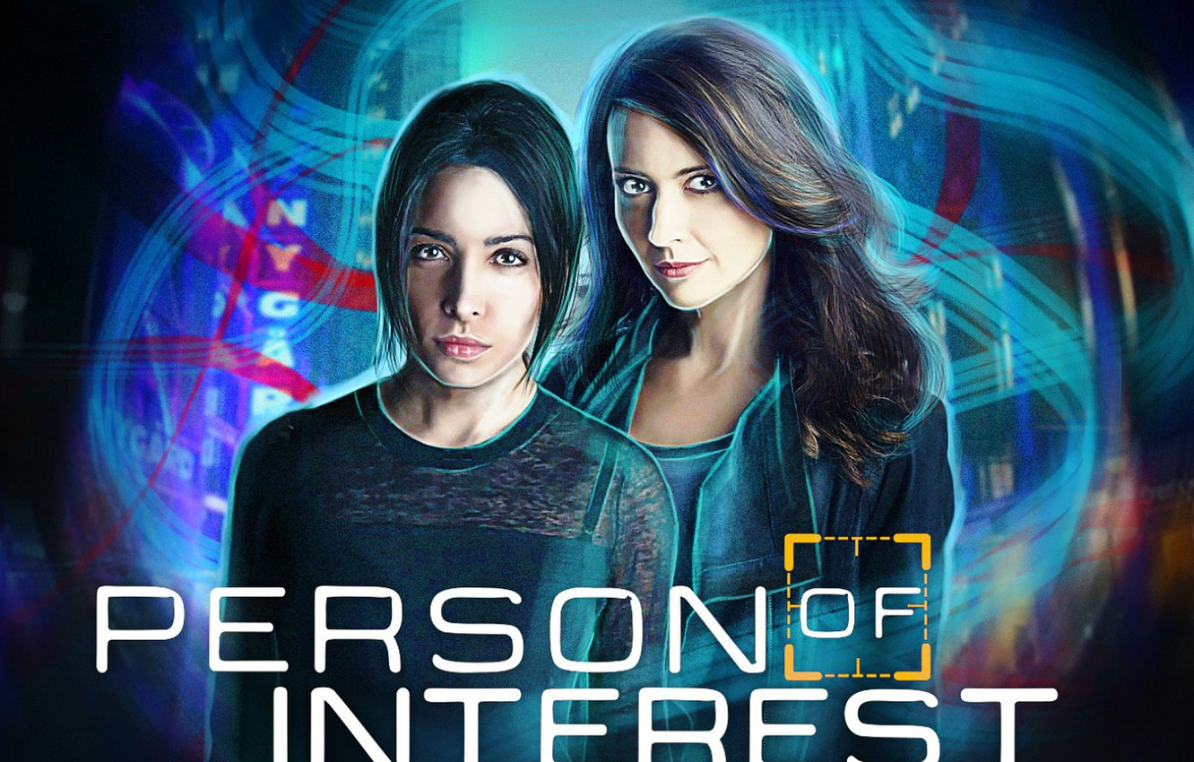 Wallpaper Fan Art, Sarah Shahi, Amy Acker, Root, Person of Interest
