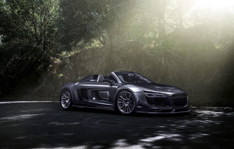 Photo wallpaper Audi, Audi, GTR, supercar, convertible, Spyder, PPI Razor