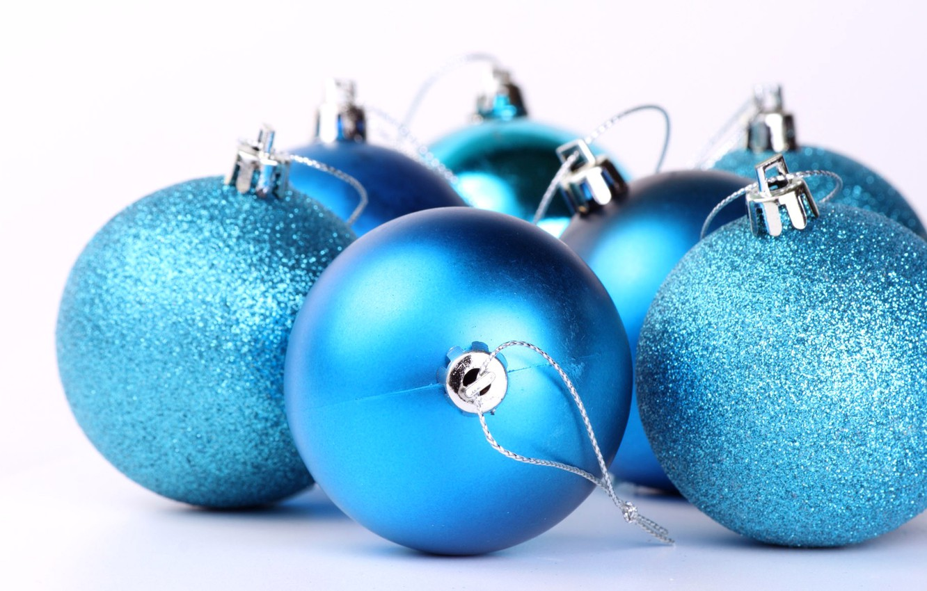Photo wallpaper toy, new year, ball, Christmas, decoration