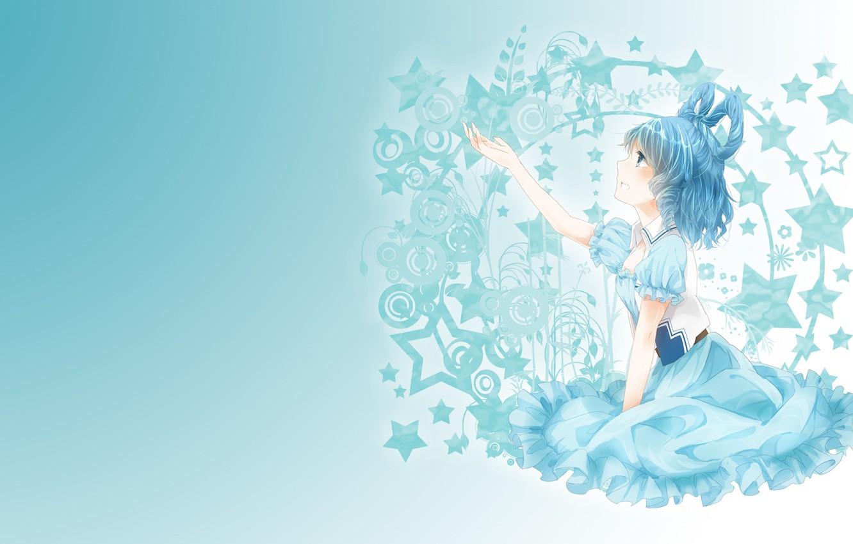 Photo wallpaper dream, girl, tenderness, art, touhou, fumiko, kaku seiga, Zvezda
