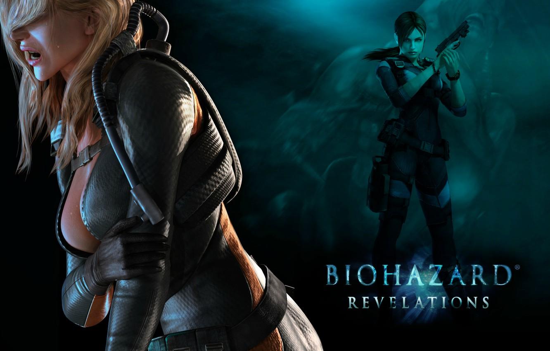 Photo wallpaper chest, gun, weapons, Resident Evil, Resident Evil: Revelations, Jill Valentine, Biohazard: Revelations, Rachel