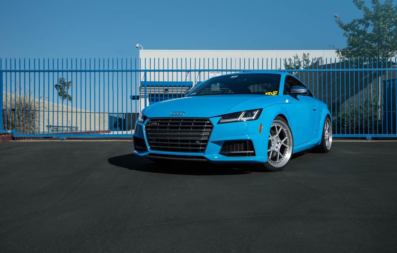 Photo wallpaper Audi, Blue, Riviera, TTS, Rotiform, The dealership, Boden, Magnaflow