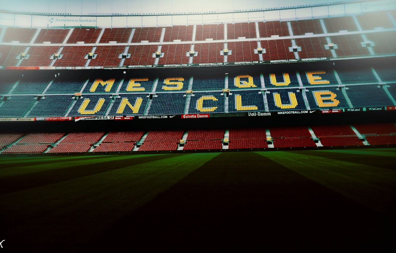 Photo wallpaper Barcelona, Barcelona, Camp Nou, Camp Nou, football stadium