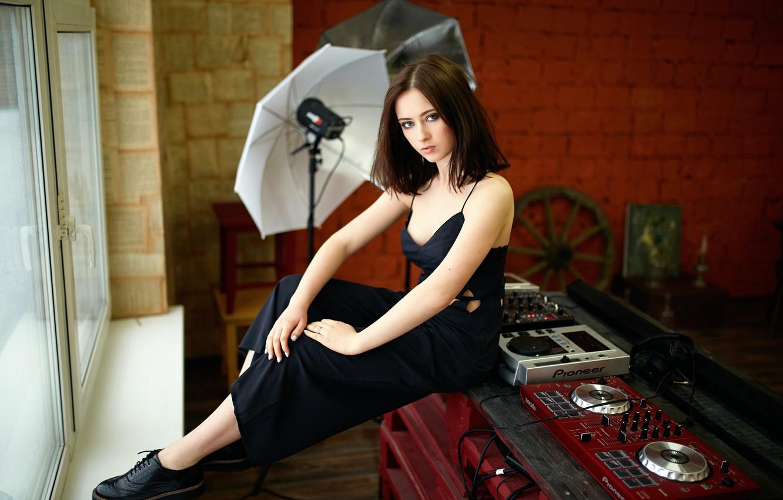 Photo wallpaper portrait, neckline, the beauty, Maria, Studio, Masha, Mariya, Alexander Veselov