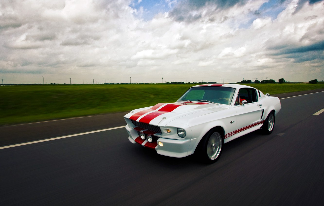 Photo wallpaper Mustang, Ford, Shelby, GT500E