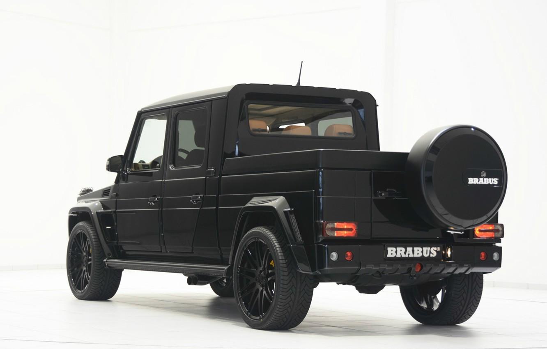 Photo wallpaper Mercedes-Benz, truck, pickup, brabus-g500