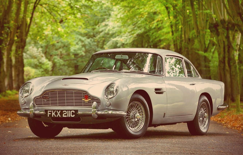 Photo wallpaper Aston, Martin, Car, DB5