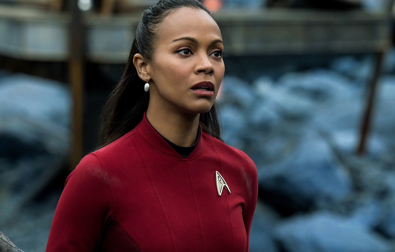 Wallpaper Cinema Girl Star Trek Soldier Dress Woman