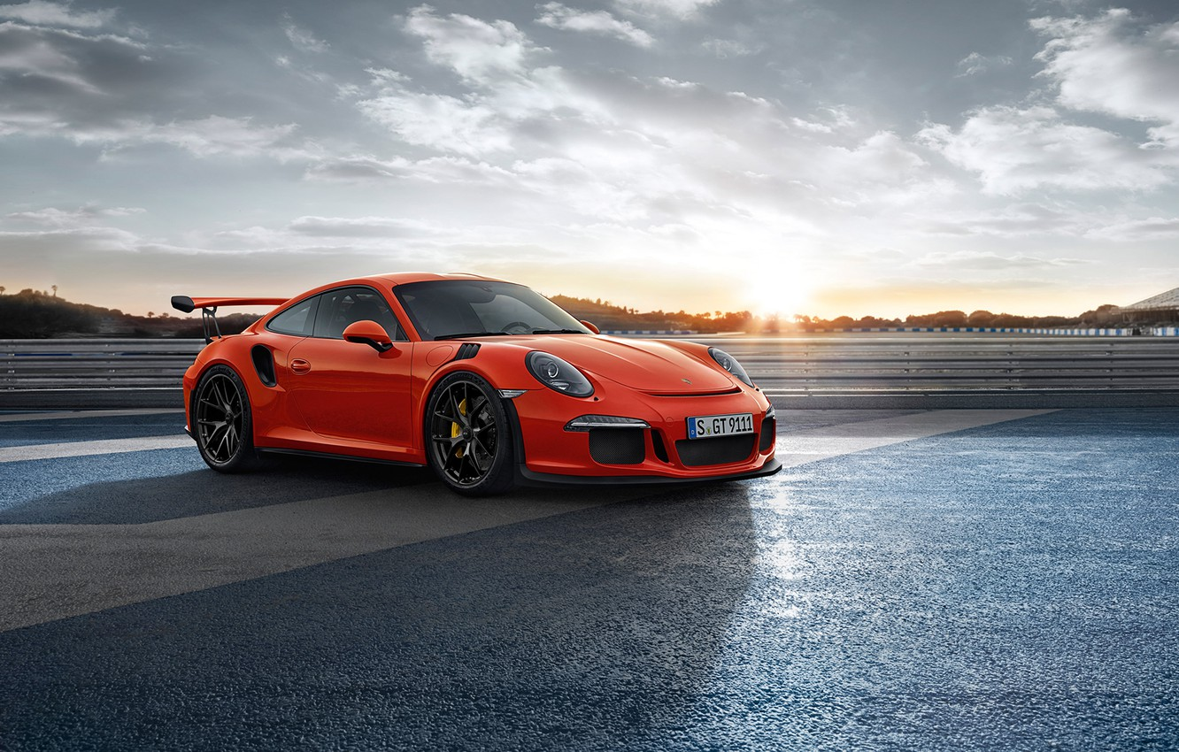 Photo wallpaper 911, Porsche, GT3RS, HRE, P101, Gloss Black