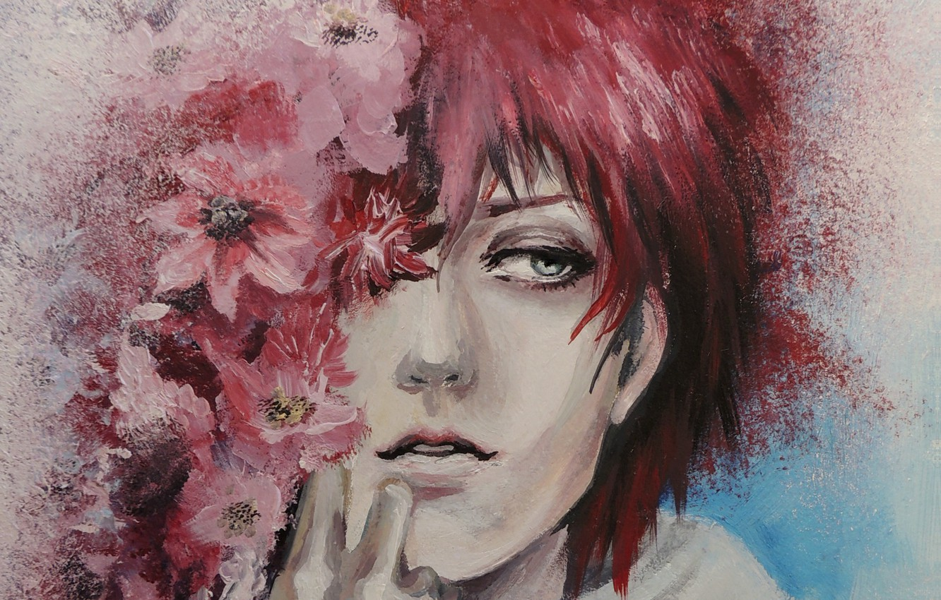 Wallpaper Flowers Squirt Portrait Art Naruto Guy Painting Naruto Akatsuki Sasori Sasori Lanaviva No Time For Maybe The Most Scorpion Of The Red Sands Images For Desktop Section Prochee Download