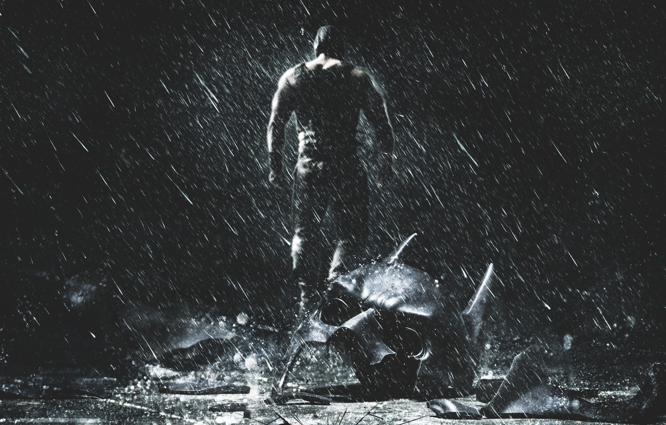 Wallpaper Action The Dark Knight Darkness Batman Legendary Pictures The Water With Rain Wallpaper The Dark Knight Rises Boy Road Dc Comics 20th Century Fox Tom Hardy Images For Desktop Section Filmy