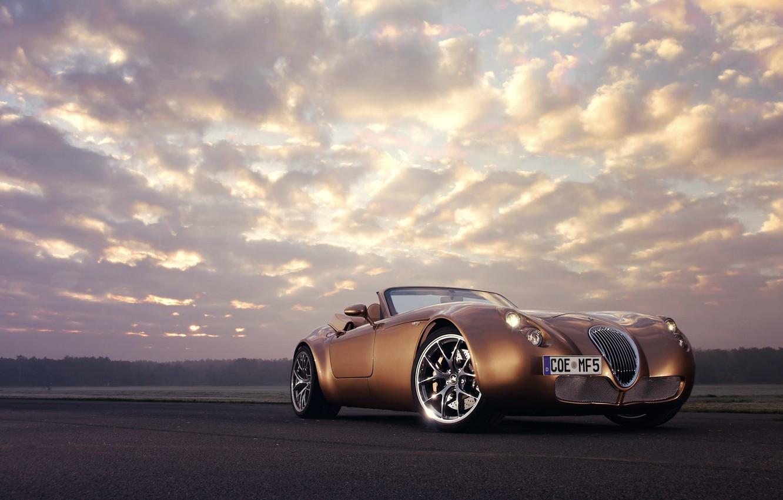 Photo wallpaper The sky, Wiesmann Roadster MF5, Other Brands